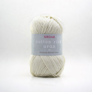 Sirdar Cotton Rich Aran | The Knitting Club