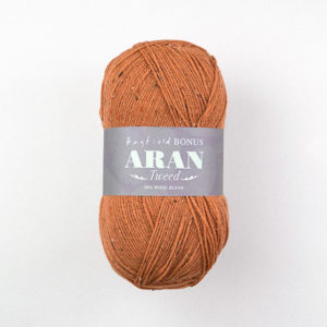 Hayfield Bonus Aran with Wool Tweed 400g | The Knitting Club
